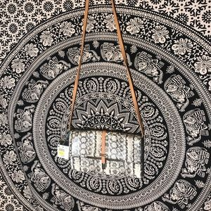 NWT Vintage Jaclyn Smith Snake Print Crossbody bag